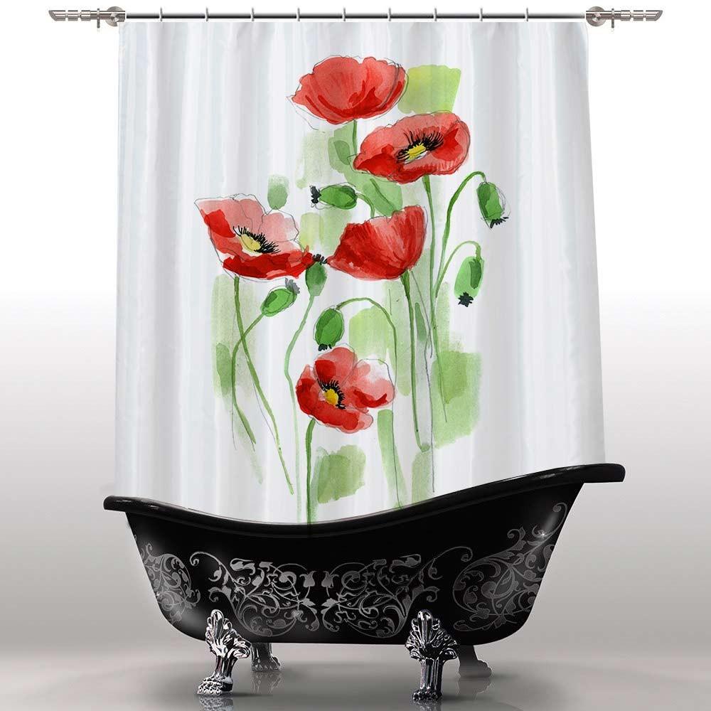 Шторка для ванны Маки