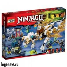 Конструктор Лего Ниндзяго Дракон Мастера Ву
