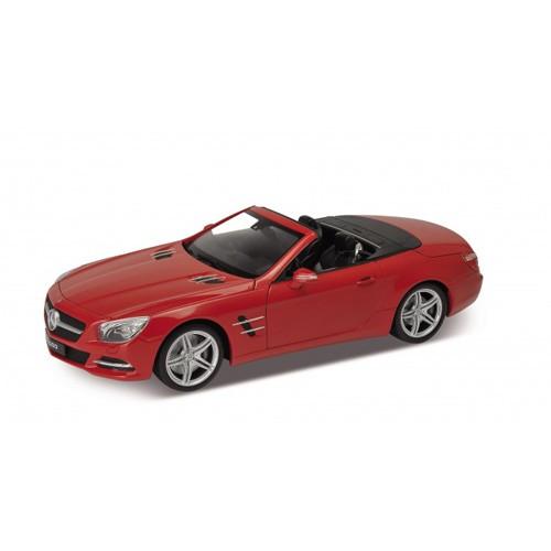 Модель машины Mercedes-Benz SL500 от Welly