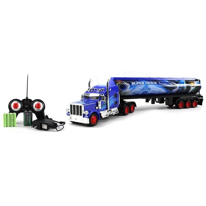 Радиоуправляемый трейлер цистерна Super Track - 666-405