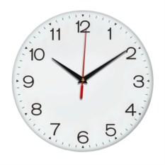 Настенные белые классические часы