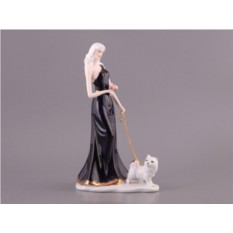 Статуэтка Дама с собачкой