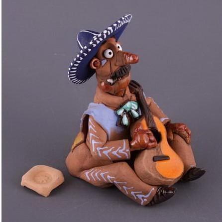 Фигурка-подсвечник «Мексиканец»