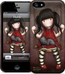 Чехол для iPhone 5 Gelaskins Ruby