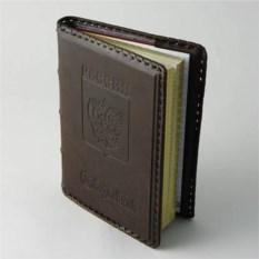 Кожаный недатированный ежедневник Герб