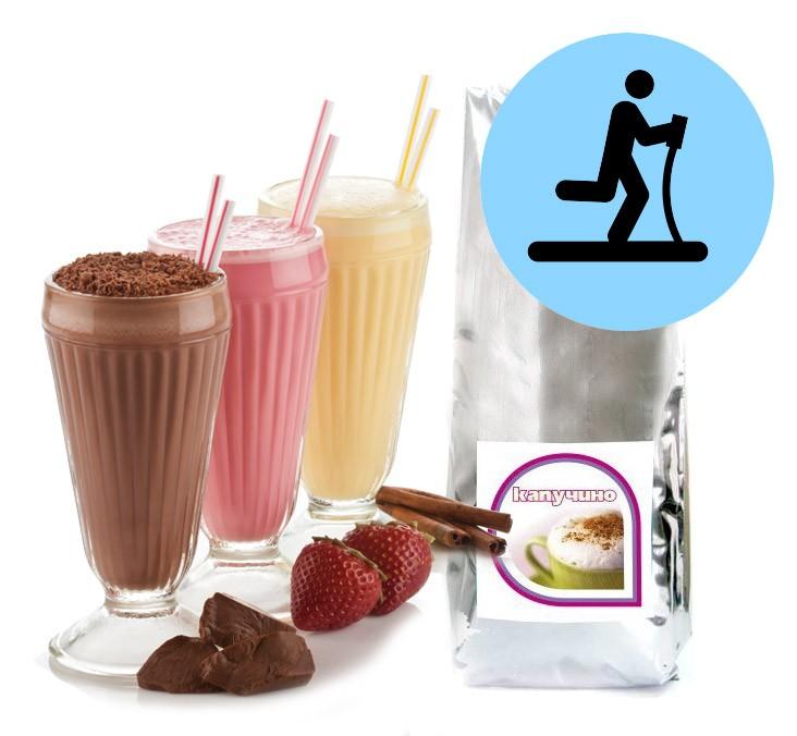 Ванильная смесь для спортивного коктейля Fitness-drink