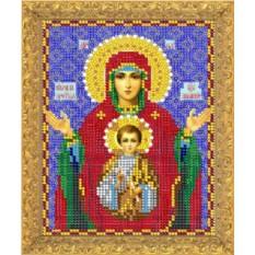 Набор для вышивания бисером Пресвятая Богородица Знамение