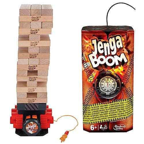 Игра настольная Дженга Бум