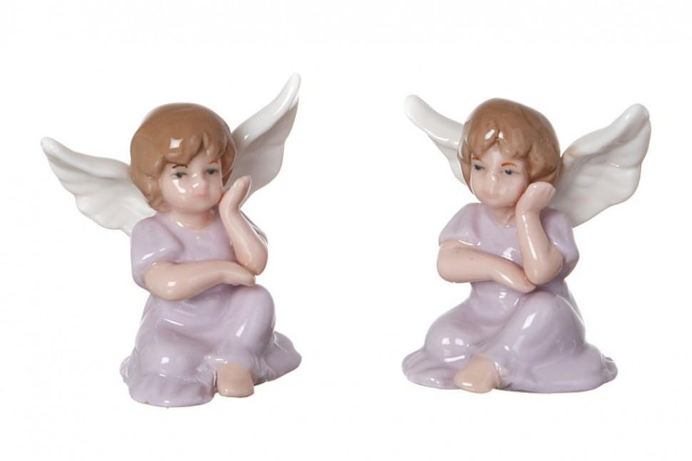Набор фигурок девочек-ангелов Познание и Наука