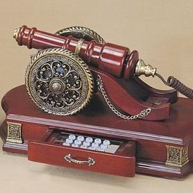 Телефон кноп. ''Пушка'' (дерево)