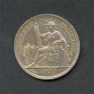 Монета «Французский Индокитай»