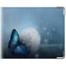 Обложка на студенческий билет Бабочка на одуванчике