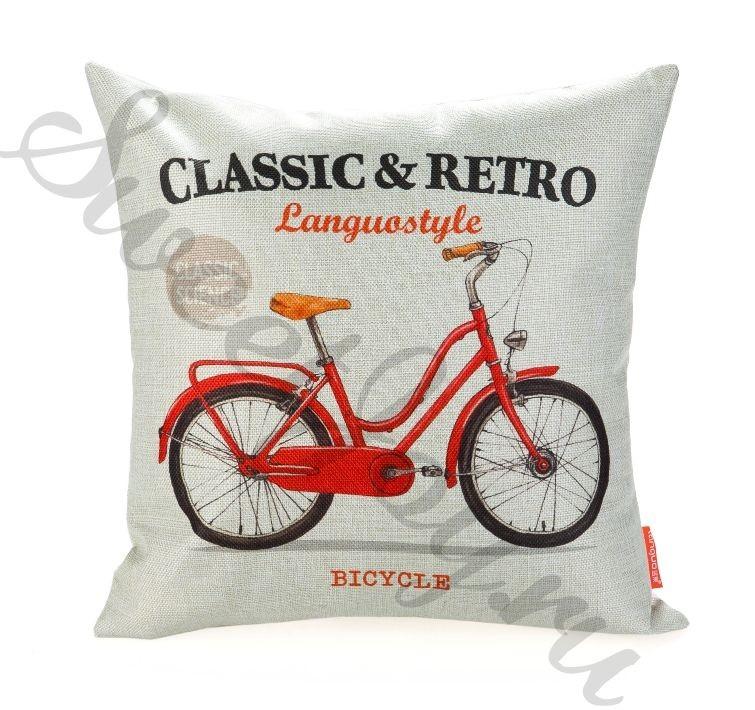 Диванная подушка Classic & Retro – Bicycle