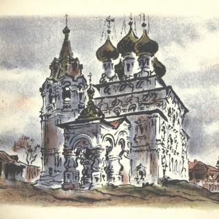 Вологда. Царе-Константиновская церковь