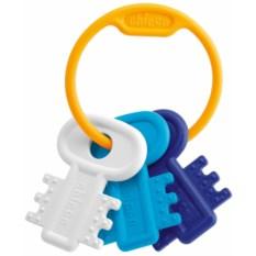 Погремушка Chicco Ключи на кольце (цвет: голубой)