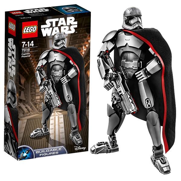 Конструктор Капитан Фазма Lego Star Wars
