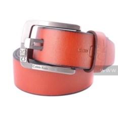 Стильный женский ремень Calvin Klein (цвет - рыжий)