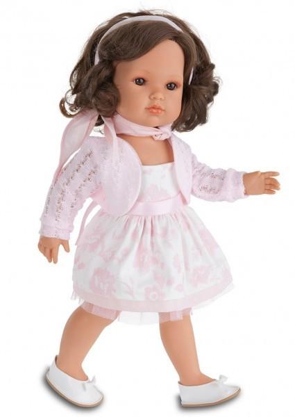 Кукла-девочка Белла в розовом жакете