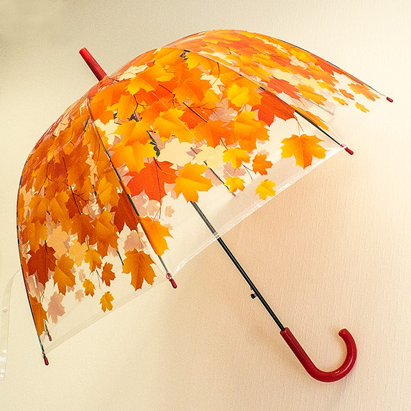 Зонт Красные листья