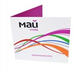 Индивидуальная подарочная упаковка для пластиковой карты