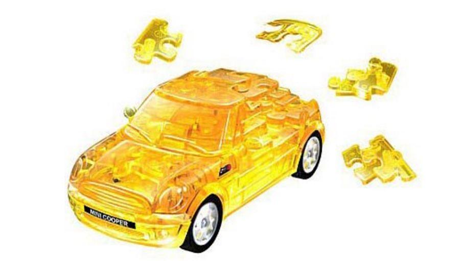 3D головоломка Мини Купер