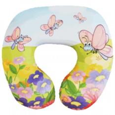 Детская подушка-подголовник Летний день