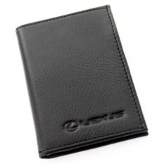 Бумажник для автодокументов с отделением для денег Lexus