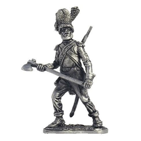 Сапёр линейной пехоты. Франция, 1805-14 гг.