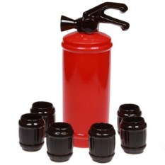 Подарочный штоф для напитков с набором рюмок Огнетушитель