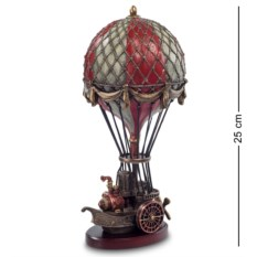 Статуэтка в стиле стимпанк Воздушный шар , высота 25,5 см