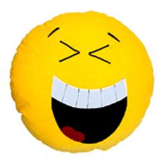 Прикольныая подушка Смайлик «Смешинка»