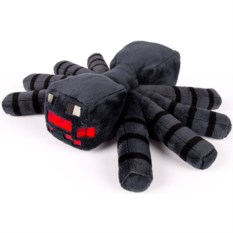 Плюшевая игрушка Паук (Minecraft, 17 см)