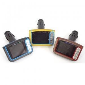 Автомобильный FM модулятор с просмотром фотографий