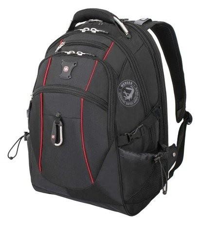 Черно-красный рюкзак WENGER