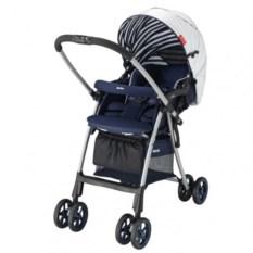 Детская коляска Aprica Luxuna Light (цвет: синий/белый)