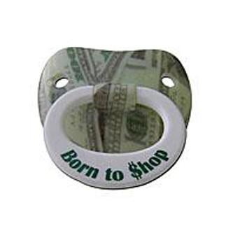 Пустышка «Рожден(а) покупать»