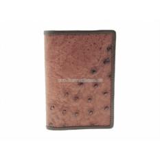 Обложка на паспорт из кожи страуса