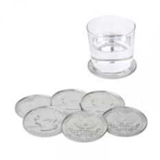 Подставки под стаканы Coins