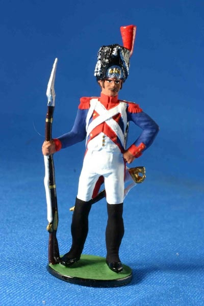 Сувенирный оловянный солдатик