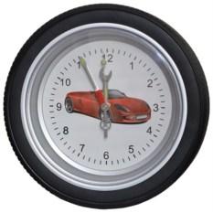 Часы-колесо Феррари (диаметр 35 см)