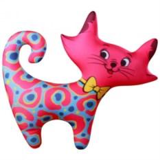 Розовая игрушка-антистресс Кошечка