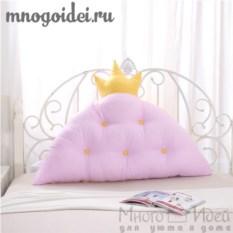 Декоративная подушка-корона Принцесса на горошине