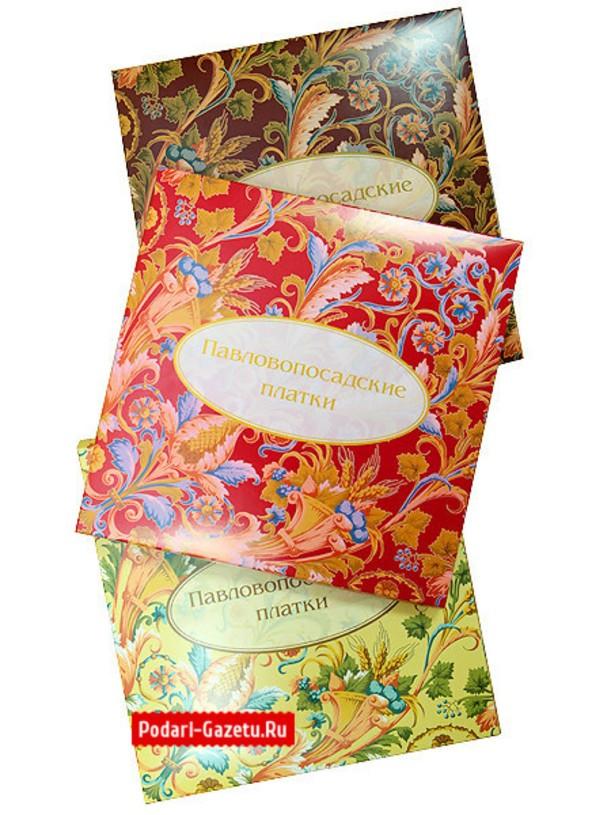 Подарочный конверт для Павловопосадского платка
