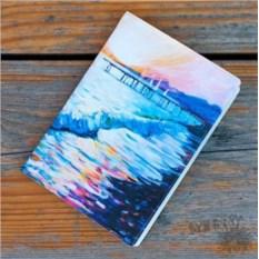 Обложка для паспорта Рассвет