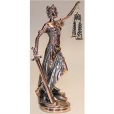 Статуэтка Богиня правосудия Фемида, высота 32 см