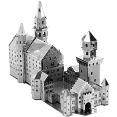 3D-пазл из металла «Замок Нойшванштайн»