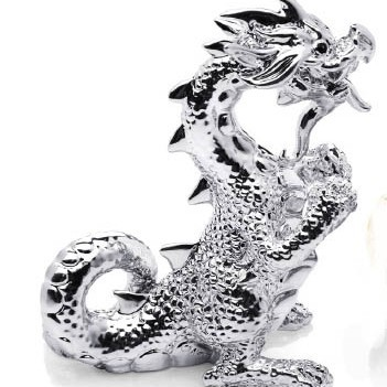 Статуэтка дракон (серебро)