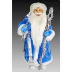 Фигура Дедушка мороз в голубой шубе