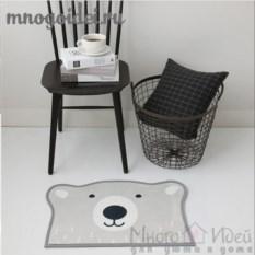 Антискользящий коврик Мишка на Севере