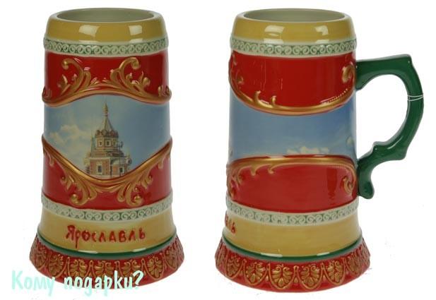 Пивная кружка коллекционная «Ярославль»